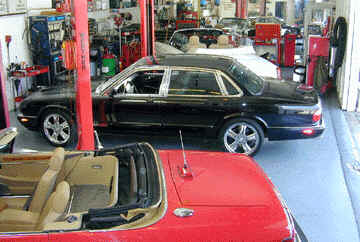 Jaguar and rolls royce repair service san francisco bay for Bay motors san mateo